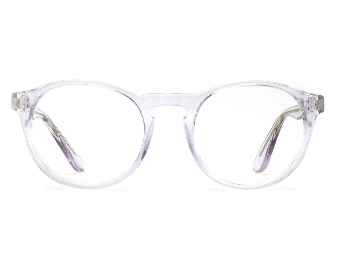 7dec3a7099 EVA CRYSTAL CLEAR - Crystal clear round eyeglasses - Eyeglasses ...